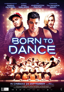 BORN TO DANCE IN NZ CINEMAS NATIONWIDE FROM TODAY ONWARDS!