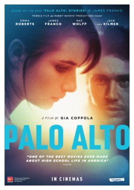 PALO ALTO coming to NZ cinemas today!